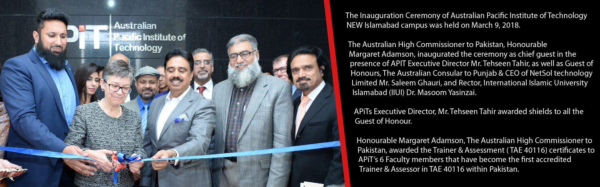 Inauguration Ceremony - APIT